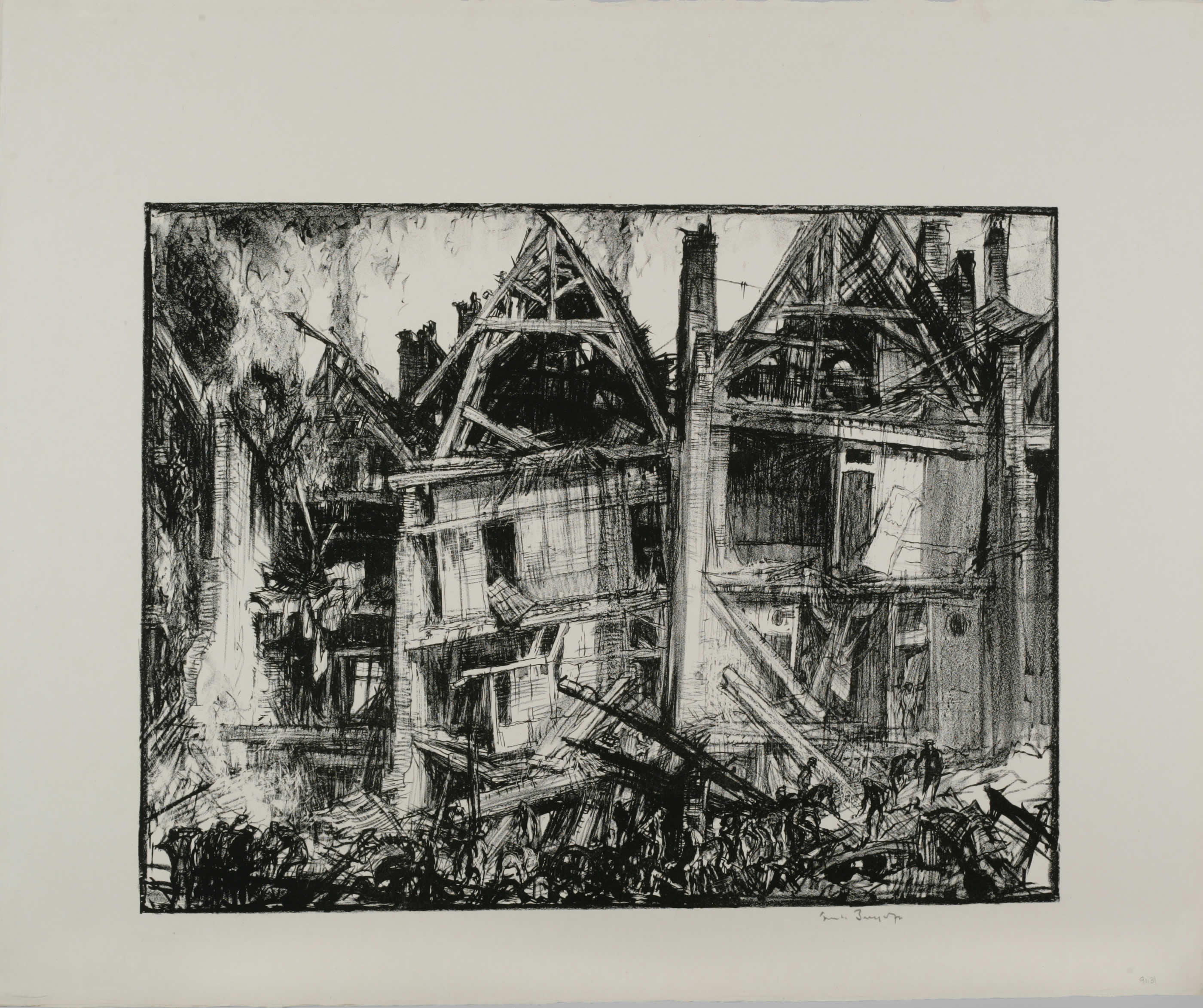 Destructions à Arras