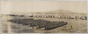 Le 1re Bataillon à Valcartier