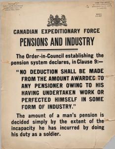 Pensions et industrie