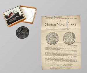 Médaille du Lusitania, version britannique