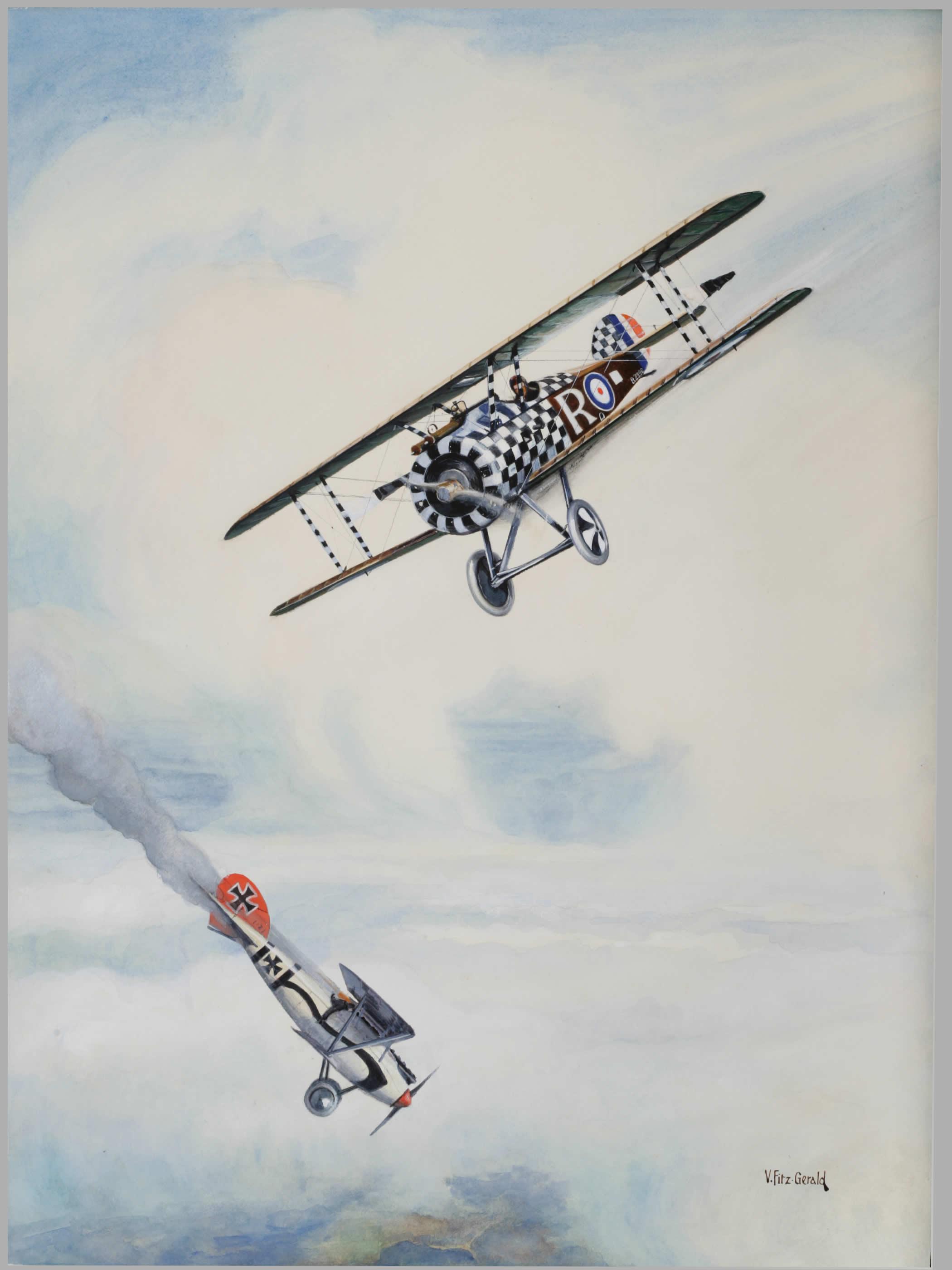 <i>Action au-dessus de l'Italie, 1918</i>