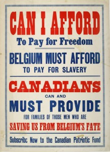 Canadians Must Provide (Les Canadiens doivent contribuer)