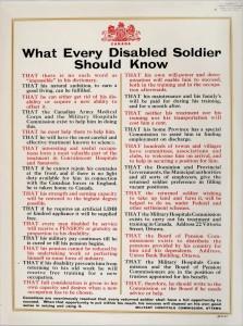 What Every Disabled Soldier Should Know (Ce que tout soldat invalide devrait savoir)