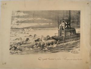 Les pertes de la campagne sous-marine sans restriction