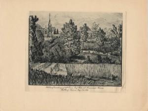 Le cimetière de la 11e brigade d'infanterie
