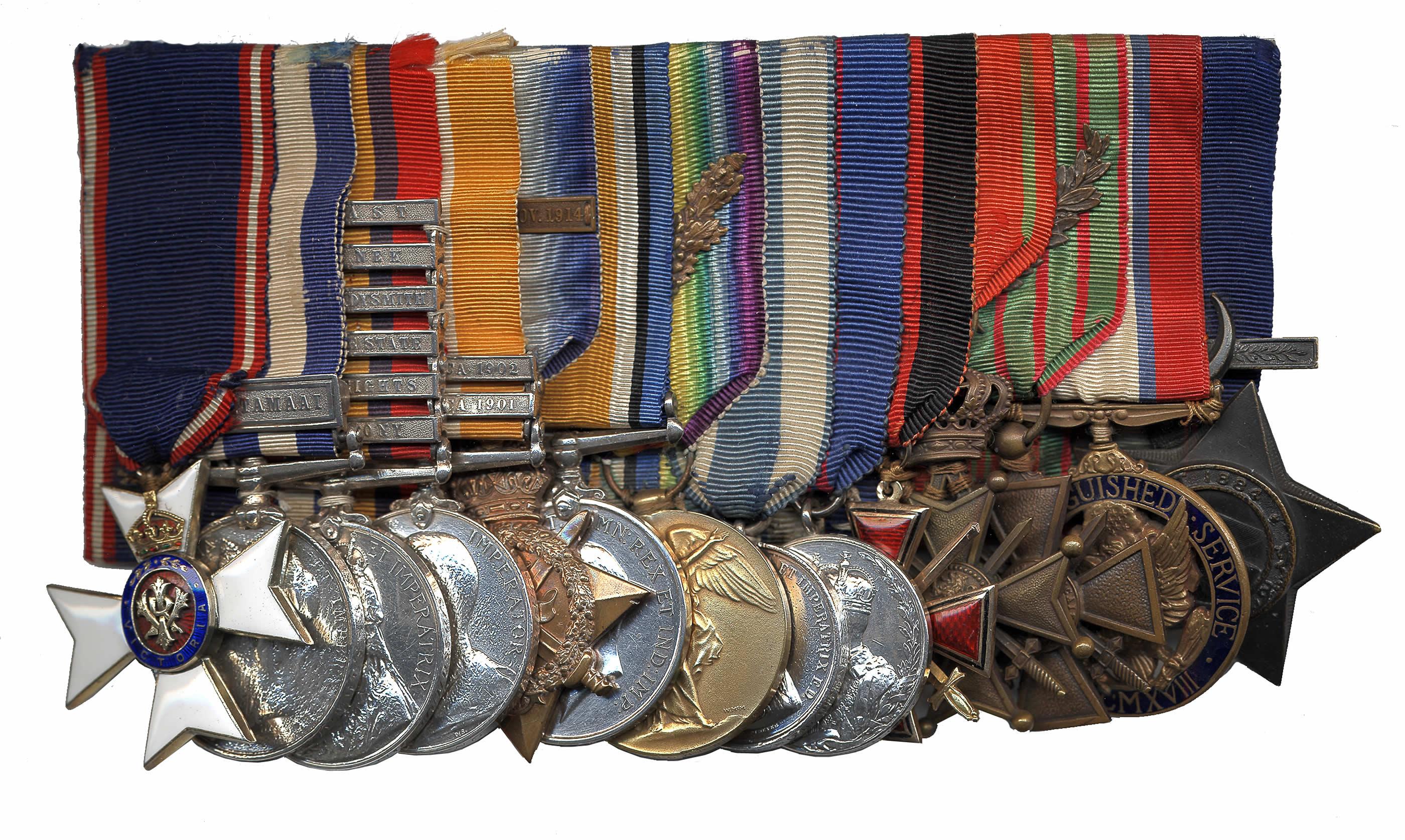 Médailles et honneurs