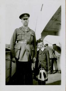 Currie et son fils