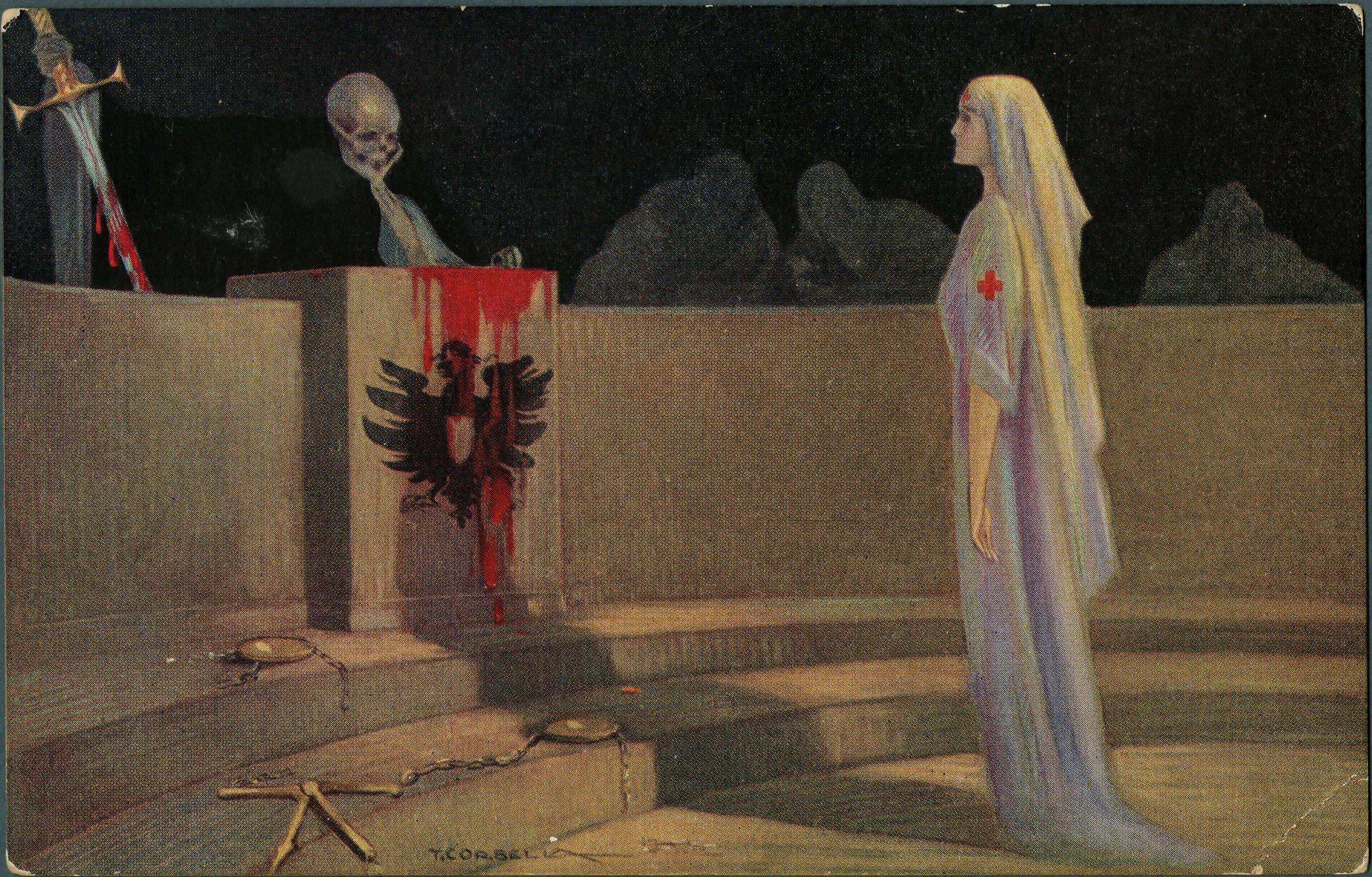 La «Kultur» et l'infirmière Cavell