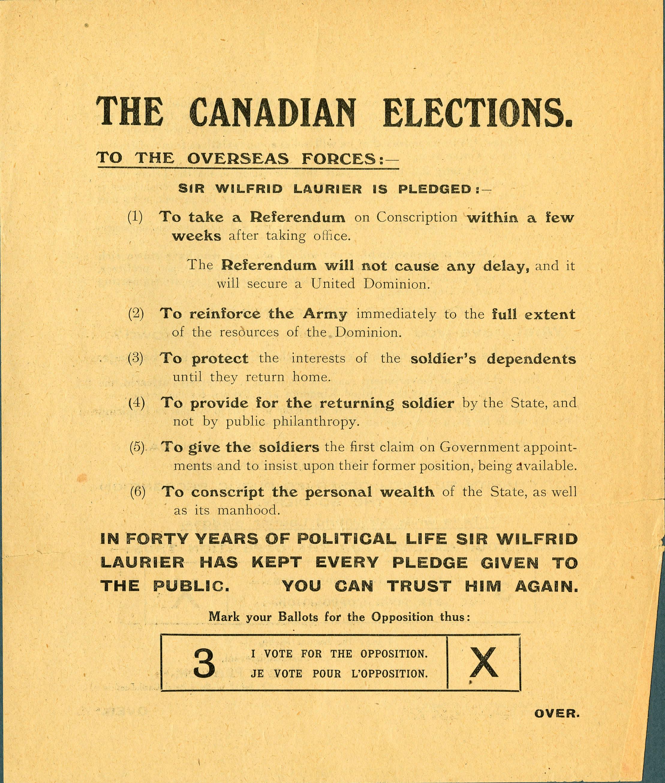 <i>Vote for the Opposition (Votez pour l'opposition)</i>