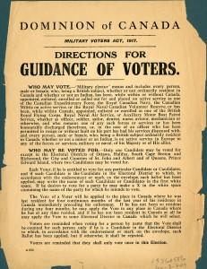 Instructions pour les électeurs