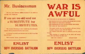 War is Awful (La guerre est atroce)
