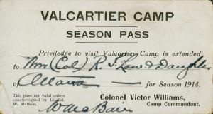 Laissez-passer pour Valcartier