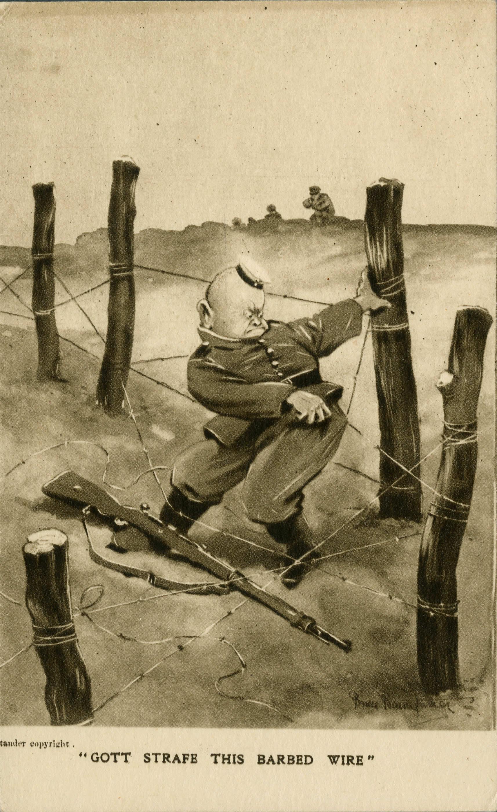 <i>Gott Strafe This Barbed Wire (Gott Strafe ces barbelés)</i>