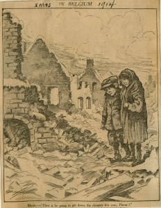 Xmas in Belgium, 1914. (Noël en Belgique, 1914)