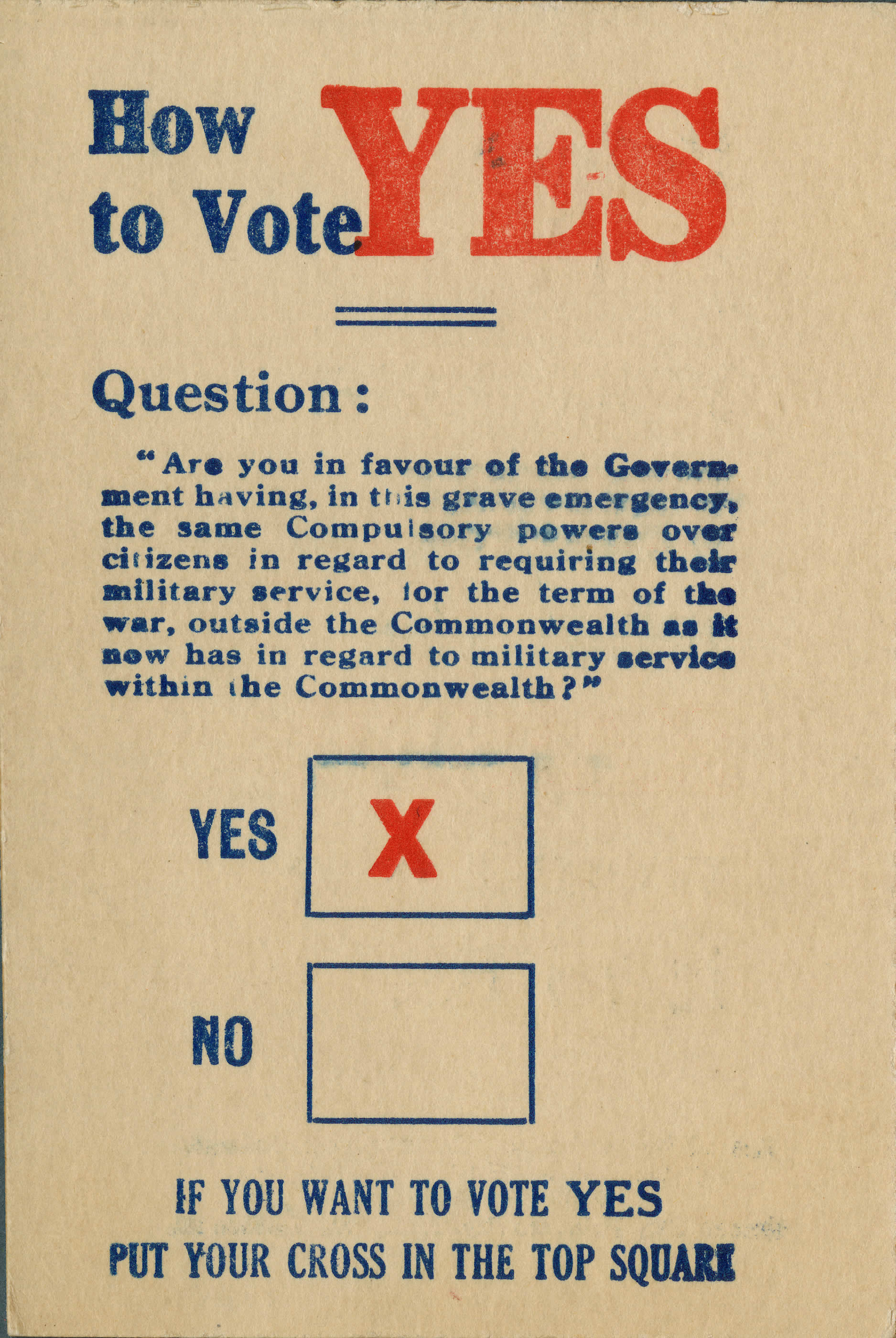 <i>How to Vote YES (Comment voter OUI)</i>