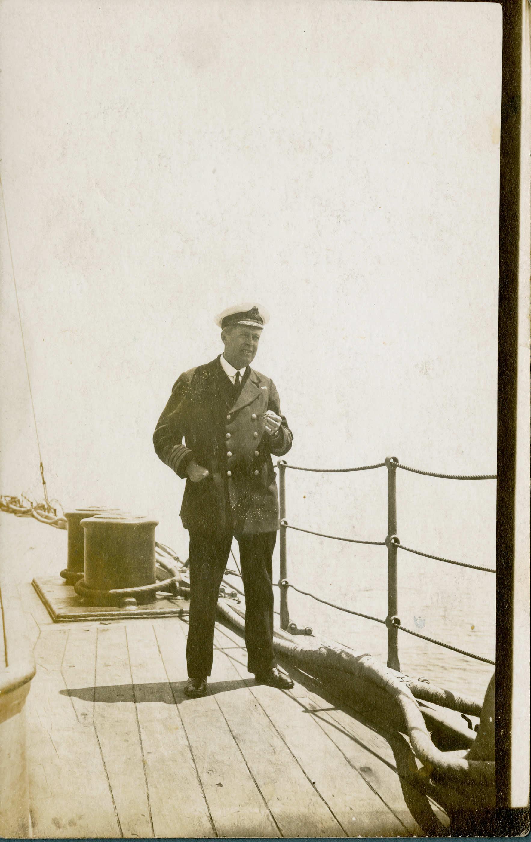 Le capitaine du <i>Niobe</i>