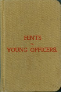 Hints to Young Officers (Conseils aux jeunes officiers)