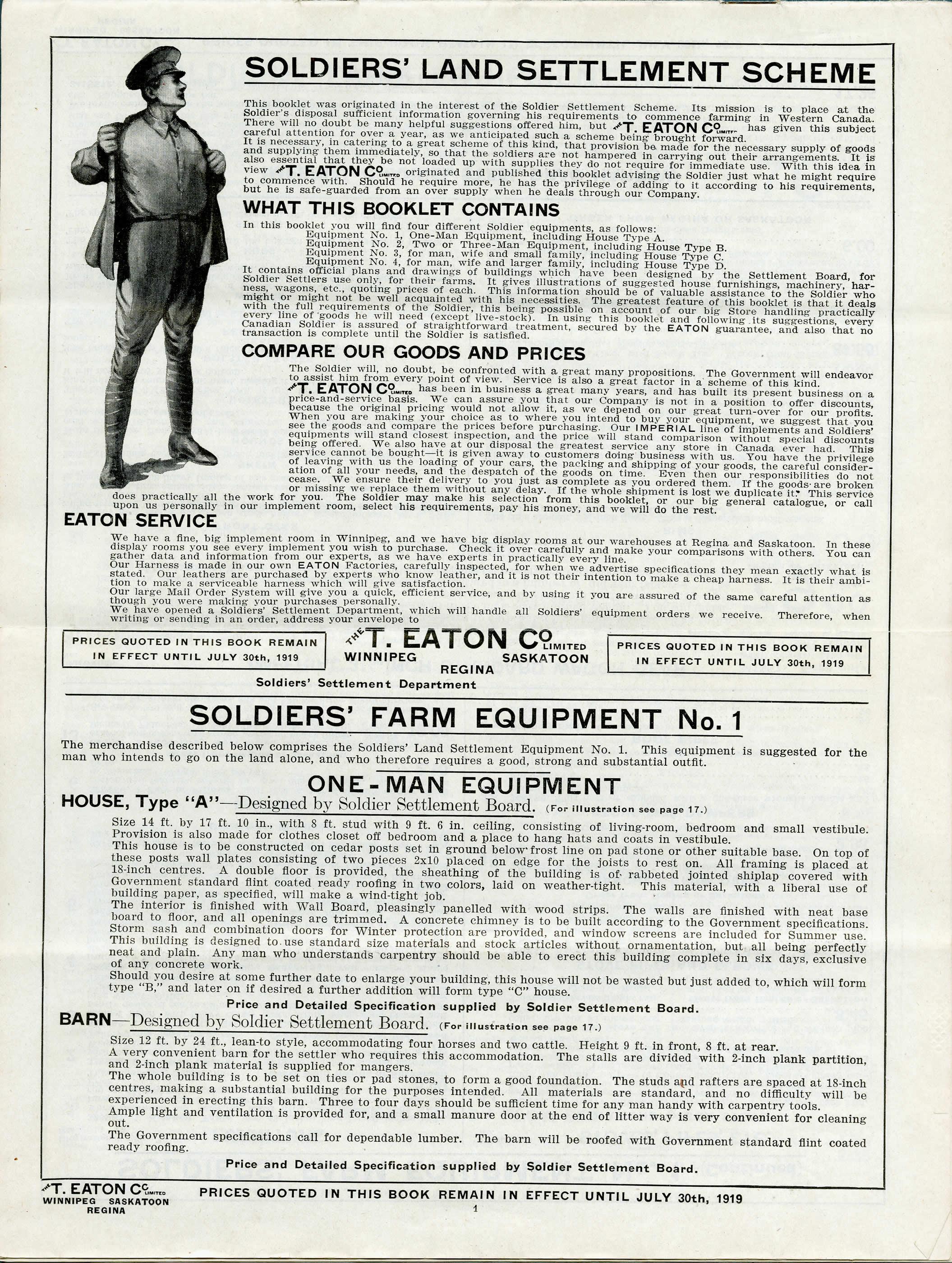 La colonisation par les soldats