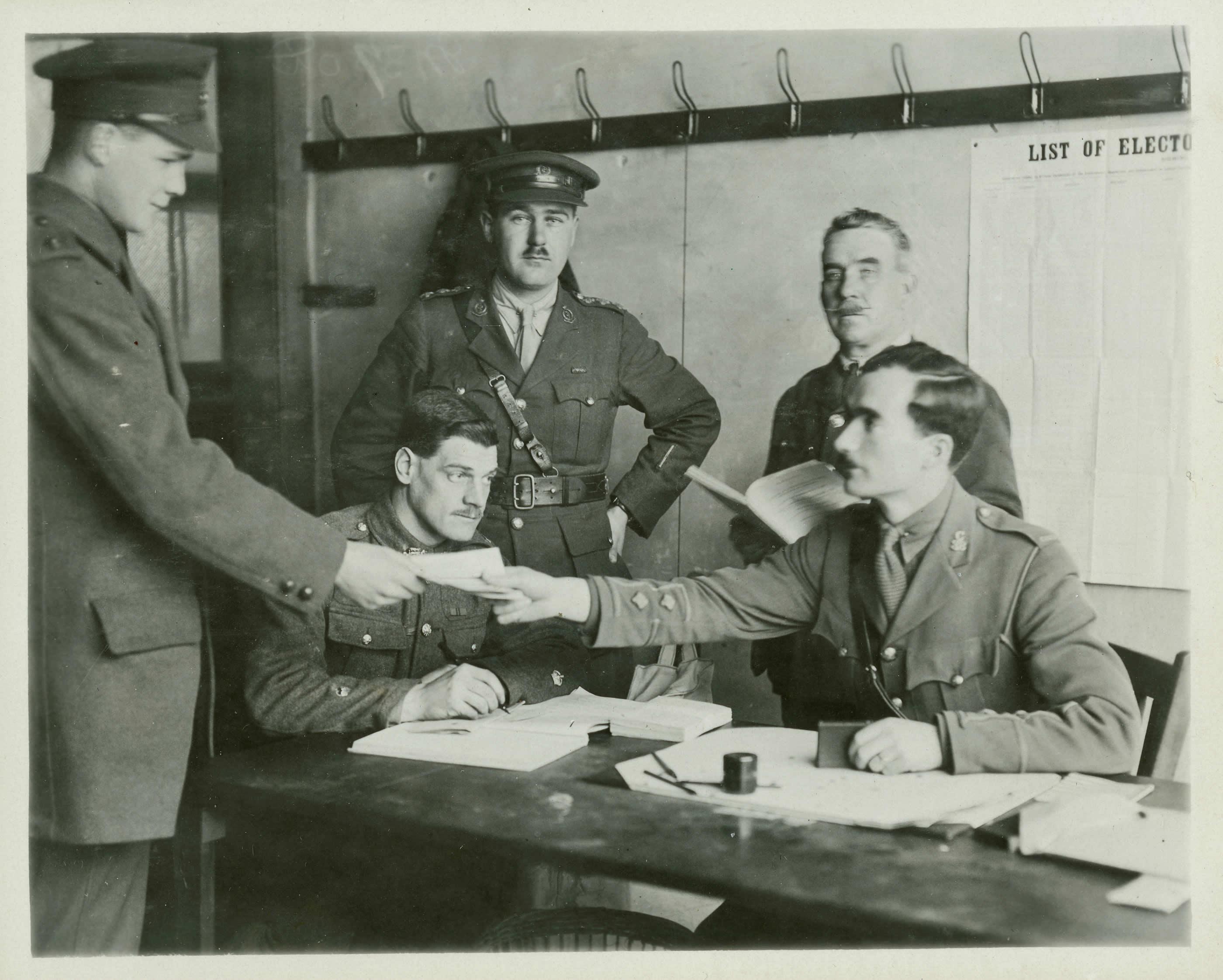 Élections, 1917