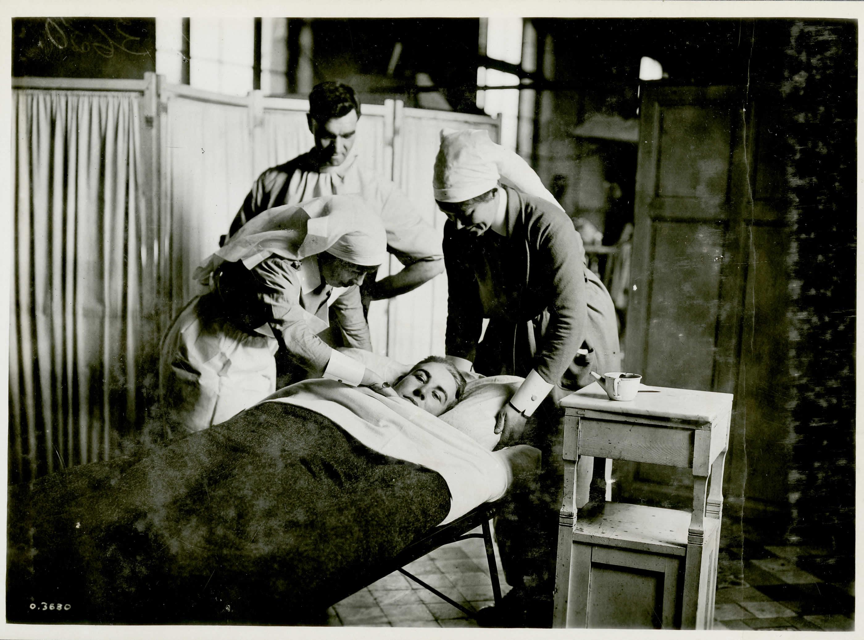 Soldat mineur blessé