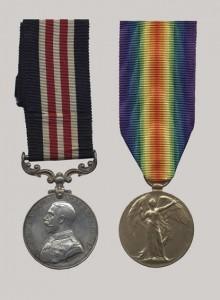 Médaille militaire et Médaille de la victoire