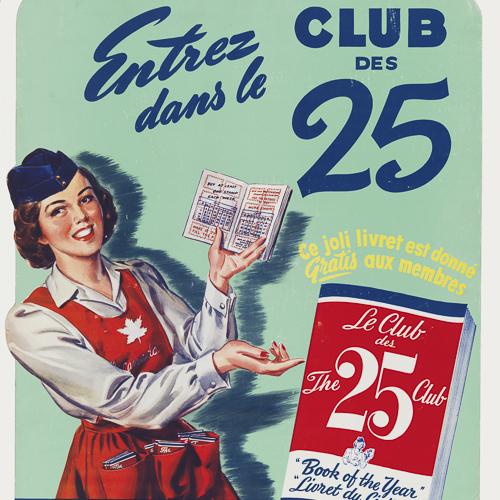 Affiche– Club des 25 (The 25 Club)