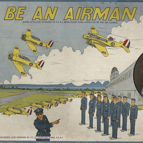 Couverture de la boîte de jeu Soyez un aviateur originale.