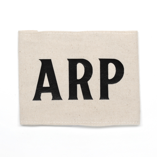 Brassard ARP avec description