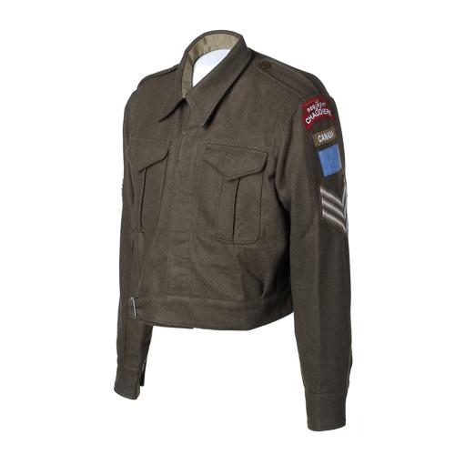 Veste de tenue de combat de l'armée avec description