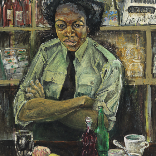 Le soldat Roy, peinture de Molly Lamb Bobak