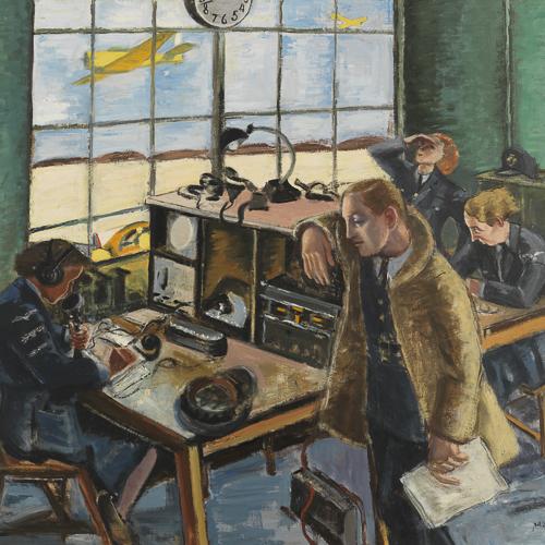 Les filles du télégraphe, peinture de Paraskeva Clark