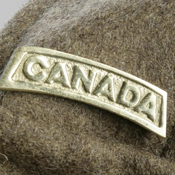 Insigne d'épaule du Canada avec description
