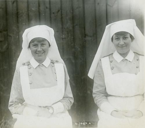 Tablier d'infirmière militaire – Photo