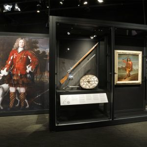 L'exposition des Highlands, les clans