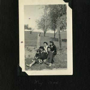 Quatre femmes et un enfant