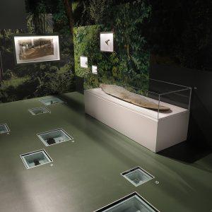 Vue d'une exposition de musée